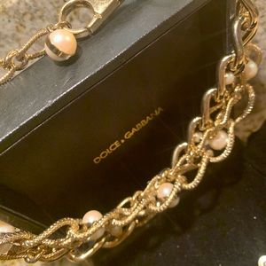 DOLCE & GABBANA🤩EXTRA LARGE TRIPLE CHAIN NECKLACE